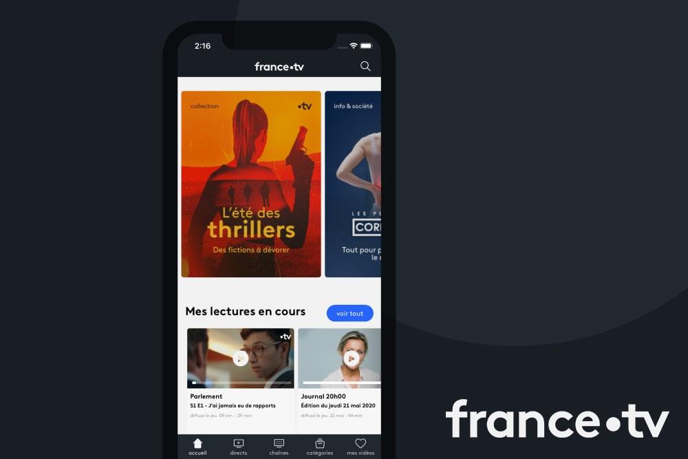 <br/>Design Produit<BR> France TV